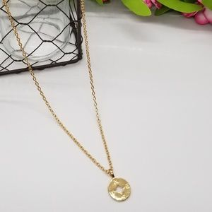 """Jewelry - *Price Drop*""""Going Places"""" Dainty Compass Necklace"""